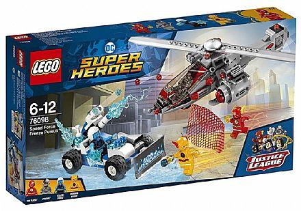 LEGO DC Super Heroes - Perseguição Congelante em alta Velocidade - 76098