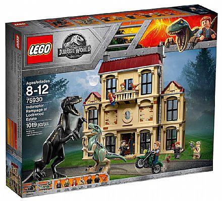 LEGO Jurassic World - Indoraptor em Fúria - 75930