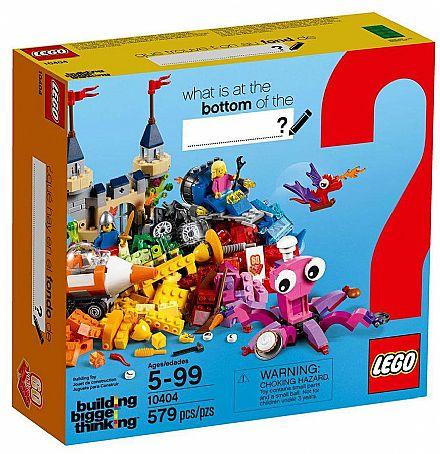 LEGO Building Bigger Thinking - Fundo do Oceano - 10404