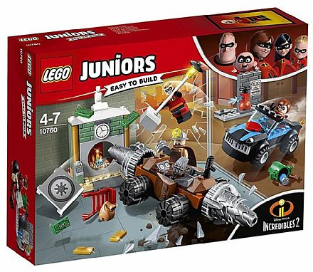 LEGO Juniors Os Incríveis - Assalto ao Banco - 10760