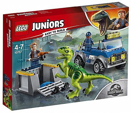 LEGO Juniors Jurassic World - Caminhão de Resgate de Raptor - 10757