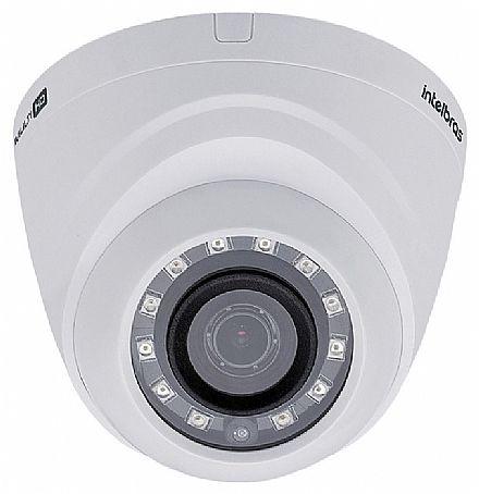 """Câmera de Segurança Dome Intelbras VHD 1010 D G4 - Lente 3.6mm - Sensor 1/4"""" - Infravermelho alcance 10m - Multi HD - 4 em 1 HDCVI, HDTVI, AHD-M, Analogica"""