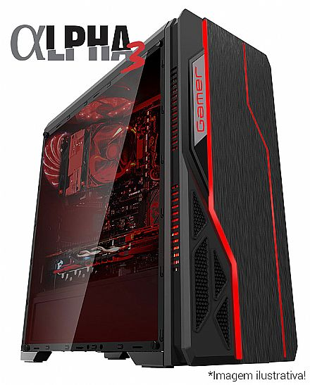 PC Gamer Bits Alpha 3 - Intel® i5 8400, 8GB, HD 500GB, Geforce GTX 1050 Ti 4GB