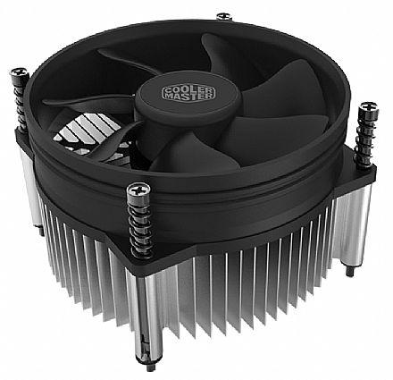 Cooler para Intel - Soquete 1150 / 1151 / 1155 / 1156 - Cooler Master i50 - RH-I50-20FK-R1