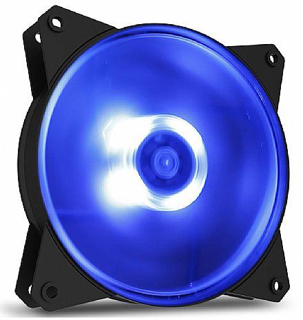 Cooler 120x120mm Cooler Master MasterFan MF120L - com LED Azul - R4-C1DS-12FB-R1