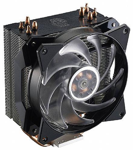 Cooler Master MasterAir MA410P - (AMD / Intel) - com LED RGB - MAP-T4PN-220PC-R1