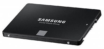 SSD 250GB Samsung EVO 860 - 550 MB/s de Leitura - V-NAND - MZ-76E250E