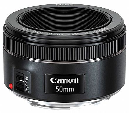 Lente EF 50mm para Canon - F/1.8 STM