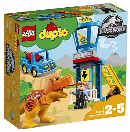 LEGO Duplo Jurassic World - Torre do T-Rex - 10880