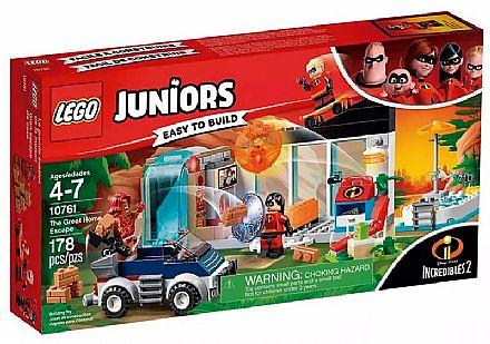 LEGO Juniors Os Incríveis - A Grande Fuga de Casa - 10761