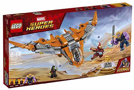 LEGO Marvel Super Heroes - Thanos: A Batalha Final - 76107