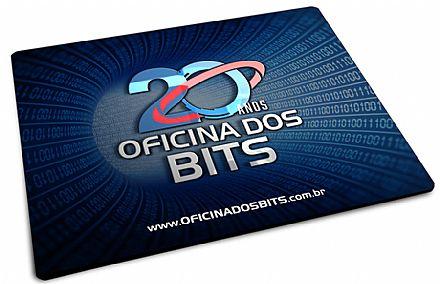 Mouse Pad Bits - 220 x 175 x 2mm - Edição especial 20 anos
