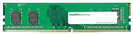 Memória 4GB DDR4 2400MHz Mushkin Essentials - CL17 - 1.2V - MES4U240HF4G