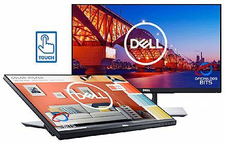 "Monitor 23.8"" Dell P2418HT Touch Screen - Full HD - 6ms - Inclinação até 60° - Suporte VESA - USB 3.0 - DisplayPort/HDMI/VGA"