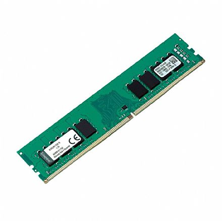 Memória 16GB DDR4 2400MHz Kingston - CL17 - 1.2V - KVR24N17D8/16
