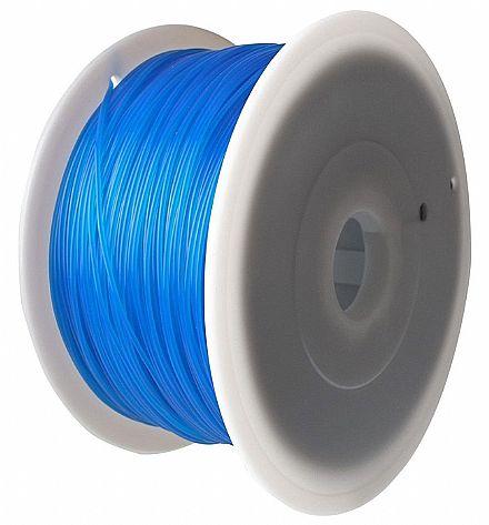 Filamento para Impressora 3D FFF - ABS Azul - 1Kg - 1,75mm - Flashforge