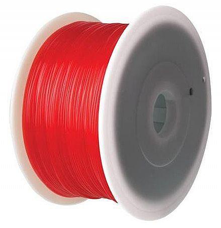 Filamento para Impressora 3D FFF - ABS Vermelho - 1Kg - 1,75mm - Flashforge