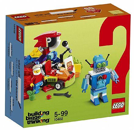 LEGO Building Bigger Thinking - Diversão do Futuro - 10402