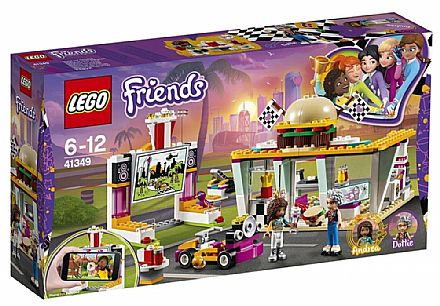 LEGO Friends - O Restaurante Drifting - 41349