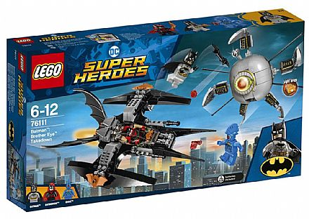 LEGO DC Super Heroes - Batman: A Derrubada do irmão Olho - 76111