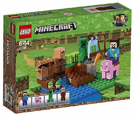 LEGO Minecraft - A Fazenda dos Melões - 21138