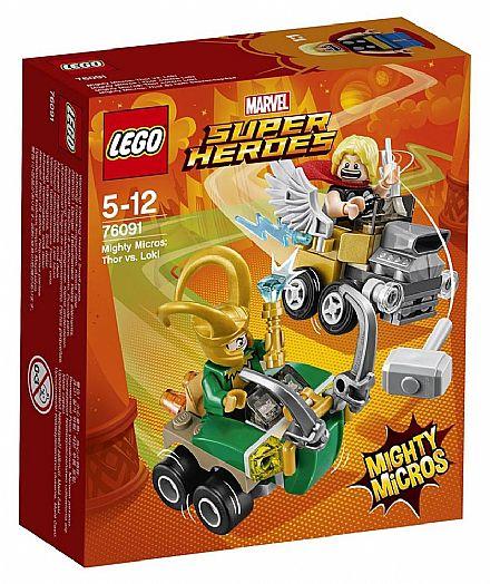 LEGO Marvel Super Heroes - Mighty Micros: Thor vs Loki - 76091
