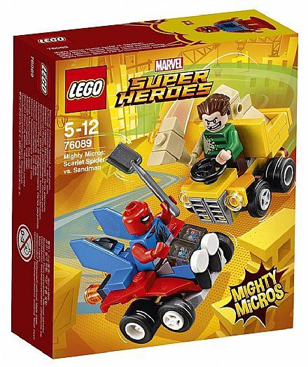 LEGO Marvel Super Heroes - Mighty Micros: Homem-Aranha vs Homem-Areia - 76089
