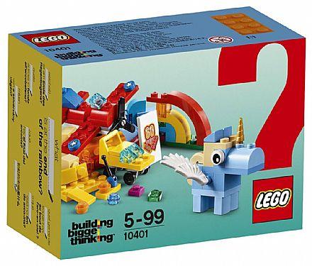LEGO Building Bigger Thinking - Diversão no Arco-íris - 10401
