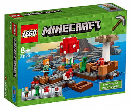 LEGO - A Ilha dos Cogumelos - 21129