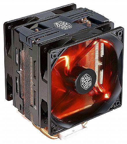 Cooler Master Hyper 212 Turbo (AMD / Intel) - LED Vermelho - RR-212TK-16PR-R1