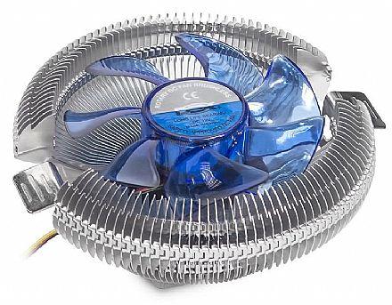 Cooler DEX DX-7120 (Intel / AMD) - 48 CFM - LED Azul