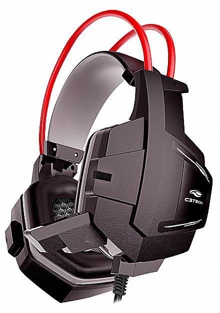 Headset Gamer C3 Tech Sparrow - com Microfone - Conectores 3.5mm - PH-G11BK
