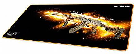 Mouse Pad Gamer C3 Tech Killer Fire - Extended - 700 x 300mm - MP-G1000