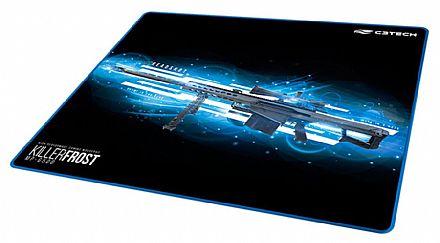 Mouse Pad Gamer C3 Tech Killer Frost - Grande - 430 x 350mm - MP-G500