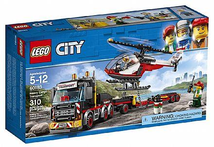 LEGO City - Transporte de Carga Pesada - 60183