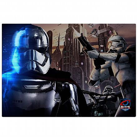 Mouse Pad Bits Gamer Star Wars - 250 x 360mm - Grande