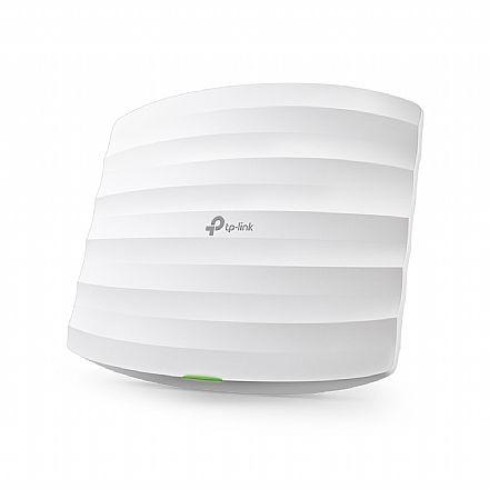 Access Point Corporativo TP-Link EAP110 - PoE - 300Mbps - Montável em Teto ou Parede - Controlador EAP - Alcance de até 100m