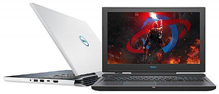 "Notebook Dell Gaming G7-7588-A10B - Tela 15.6"" Full HD IPS, Intel i5 8300H, 16GB, HD 1TB + SSD 8GB, GeForce GTX 1050 Ti 4GB, Windows 10 - Branco"