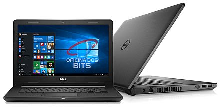 "Notebook Dell Inspiron i14-3467-M10P - Tela 14"", Intel i3 6006U, 4GB, HD 1TB, Intel HD Graphics 520, Windows 10 - Outlet"