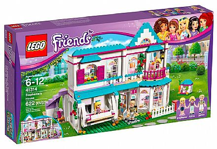 LEGO Friends - A Casa da Stephanie - 41314
