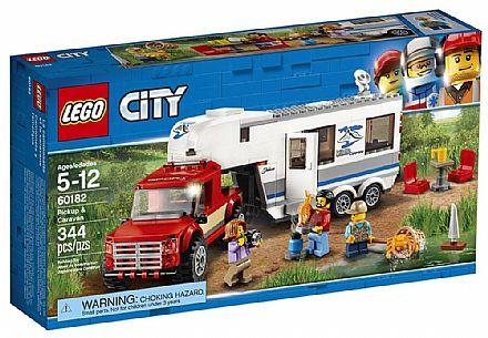LEGO City - Pick-up e Trailer - 60182