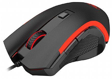 Mouse Gamer Redragon Nothosaur M606 - 3200dpi - com LED - 6 Botões Programáveis