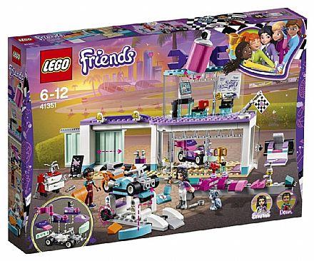 LEGO Friends - Loja Criativa de Tunning - 41351