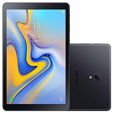 "Tablet Samsung Galaxy Tab A T595 - Tela 10.5"", Android, 32GB, Octa Core, Wi-Fi + 4G, Câmera 8MP - SM-T595 - Preto"