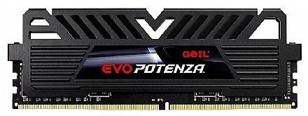 Memória 16GB DDR4 2400MHz Geil EVO Potenza - 1.2V - CL16 - GPB416GB2400C16SC
