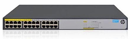 Switch 24 portas HP 1420-24G-PoE+ - Gigabit - JH019A