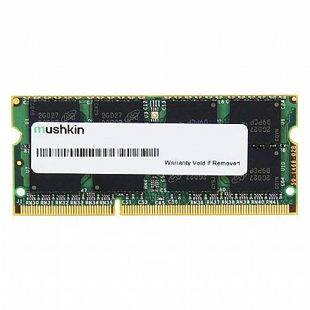 Memória SODIMM 4GB DDR3L 1600MHz Mushkin Essentials - para Notebook - Low Voltage 1.35V - PC3L-12800 - 992037