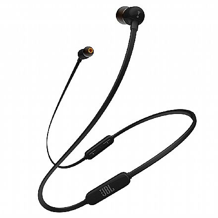 Fone de Ouvido Bluetooth Intra-Auricular JBL Tune 110BT - Preto - JBLT110BTBLK