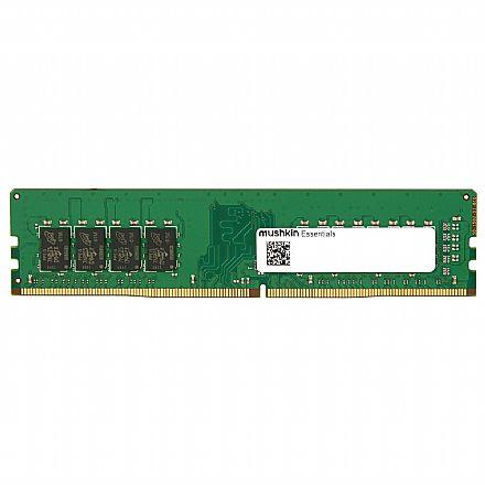 Memória 16GB DDR4 2666MHz Mushkin Essentials - CL19 - 1.2V - MES4U266KF16G