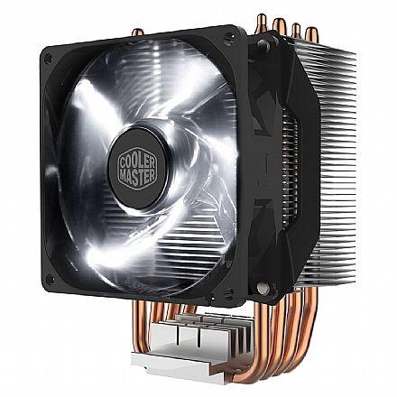 Cooler Master Hyper H411R - (AMD / Intel) - 4 heat Pipes de Cobre - com LED Branco - RR-H411-20PW-R1